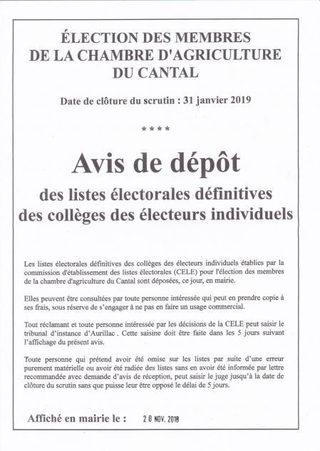 Elections ca