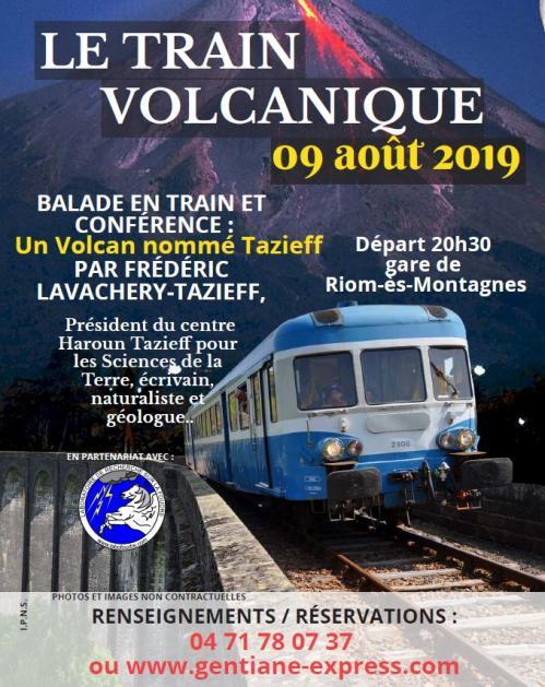 Train volcanique